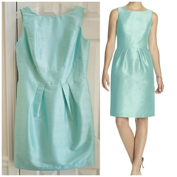 27c06eb340d Alfred Sung Dresses   Skirts - Alfred Sung Bow Sheath Cocktail Dress Style  D522